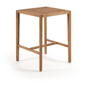 Příruční stolek z eukalyptového dřeva La Forma Cybille, 80 x 80 cm