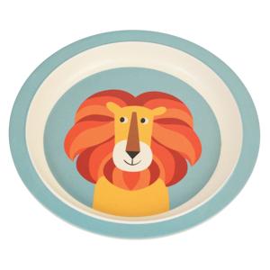 Dětský talíř z bambusu Rex London Charlie the Lion