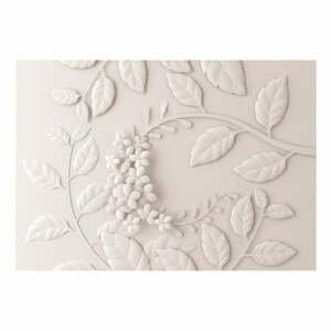 Velkoformátová tapeta Bimago Cream Paper Flowers, 400x280cm