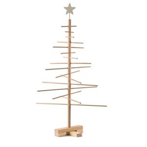 Dřevěný vánoční stromek Nature Home Xmas Decorative Tree, výška 75 cm