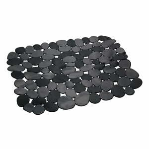 Černá ochranná podložka do dřezu Wenko Kristall Stone