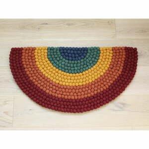 Dětský kuličkový vlněný koberec Wooldot Ball Rugs Rainbow Multi