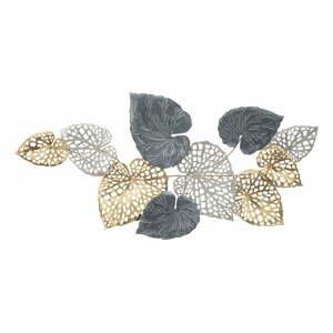 Kovová závěsná dekorace se vzorem listů MauroFerretti Ory-A-, 122x57cm