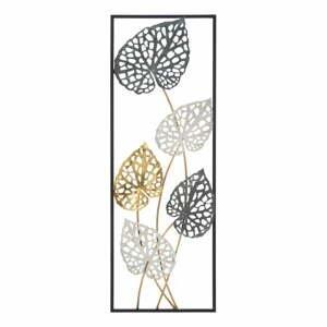 Kovová závěsná dekorace se vzorem listů MauroFerretti Ory-B-, 31x90cm