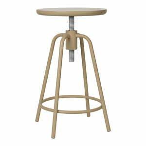 Béžová otočná stolička Blomus Around, výška 45 cm