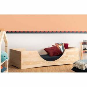 Dětská postel z borovicového dřeva Adeko Pepe Bork,70x140cm