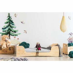 Dětská postel z borovicového dřeva Adeko Pepe Frida,70x140cm