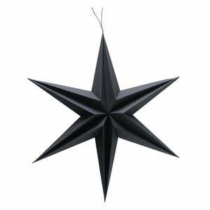 Černá vánoční závěsná dekorace Boltze Kassia