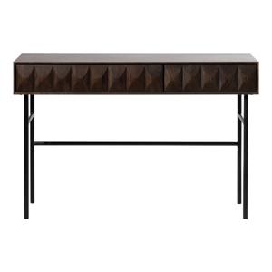 Černý konzolový stolek Unique Furniture Latina