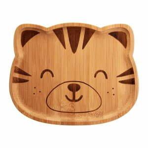 Dětský bambusový talíř Sass & Belle Farmyard Friends Tiger