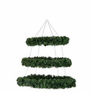 Závěsná vánoční dekorace J-Line Wreath