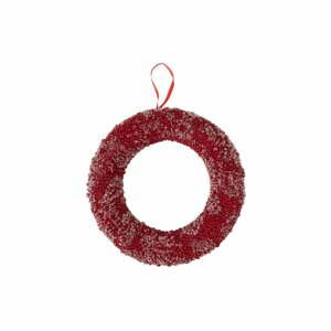 Červený vánoční věnec J-Line Berries