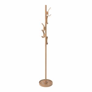 Přírodní věšák z dubového dřeva Wireworks