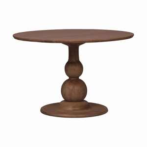 Jídelní stůl z mangového dřeva BePureHome, ø 120 cm