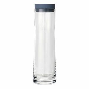 Skleněná karafa na vodu se silikonovým víčkem Blomus Aqua,1l