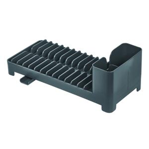 Šedý odkapávač na nádobí iDesign Clarity, 32x14cm