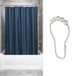 Sada 12 háčků pro sprchový závěs iDesign