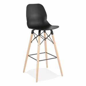 Černá barová židle Kokoon Marcel, výškasedu75cm