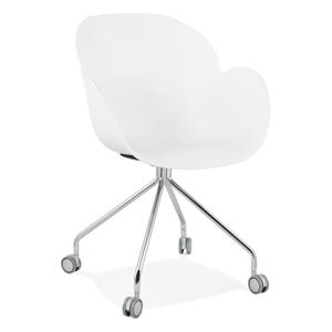 Bílá kancelářská židle Kokoon Rulio