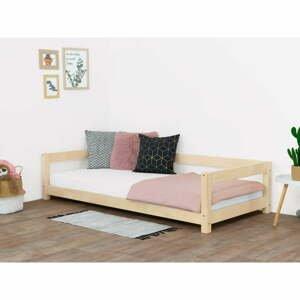 Přírodní dětská postel ze smrkového dřeva BenlemiStudy, 90x200cm