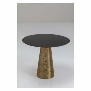 Černý kovový odkládací stolek Kare Design Charme, ⌀50cm