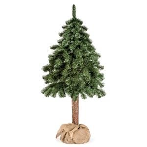Umělý vánoční stromeček DecoKing Cecilia on a stump, 1 m