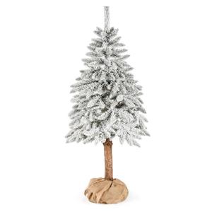 Umělý vánoční stromeček DecoKing Cecilia white on a stump, 1,5 m