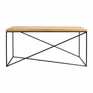 Konferenční stolek v dekoru dubového dřeva Custom Form Memo. délka 100 cm