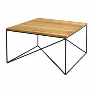 Konferenční stolek v dekoru dubového dřeva Custom Form Memo. délka 80 cm