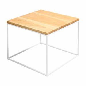 Konferenční stolek s bílou konstrukcí Custom Form Tensio, 50 x 40 cm