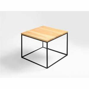 Konferenční stolek s černou konstrukcí Custom Form Tensio, 50 x 40 cm