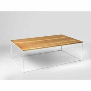 Konferenční stolek s bílou konstrukcí Custom Form Tensio, 100 x 45 cm