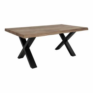 Konferenční stolek s deskou z masivního dubu House Nordic Toulon Smoked,120x70 cm