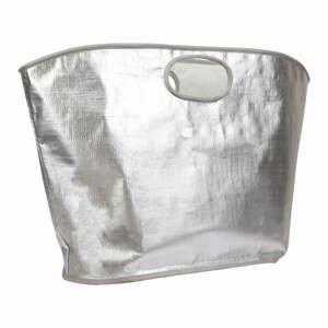 Plážová taška ve stříbrné barvě Sunnylife Everything Bag
