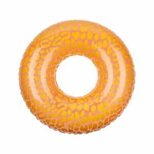 Oranžovorůžový nafukovací kruh Sunnylife Call of the Wild