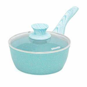 Modrý rendlík s pokličkou Bisetti Miss Gourmet,ø18cm