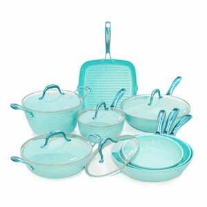 8dílný set nádobí s poklicemi Bisetti Miss Gourmet