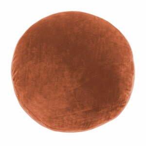 Oranžový dekorativní polštář z mikrovlákna Tiseco Home Studio Marshmallow,ø40cm