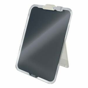 Černý skleněný flipchart na stůl Leitz Cosy, 22 x 30 cm