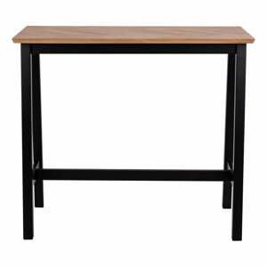 Barový stůl v dubovém dekoru Actona Brighton Herringbone