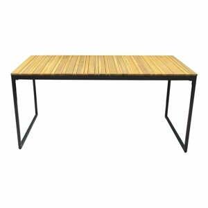 Zahradní jídelní stůl s deskou z akáciového dřeva Ezeis Brick