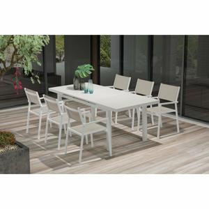 Set 8 zahradních židlí a rozkládacího jídelního stolu Ezeis Carioca