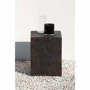 Šedý zahradní odkládací stolek Ezeis Ecotop, 35 x 35 cm