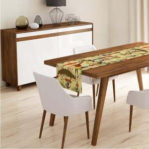 Běhoun na stůl Minimalist Cushion Covers African Design,45x140cm
