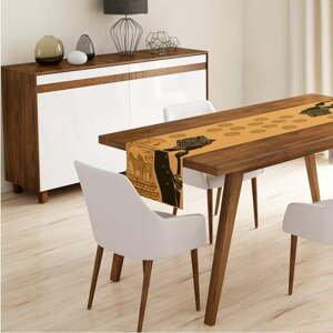 Běhoun na stůl Minimalist Cushion Covers African Woman,45x140cm