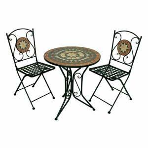 Set 2 zahradních židlí a stolku ADDU Pular