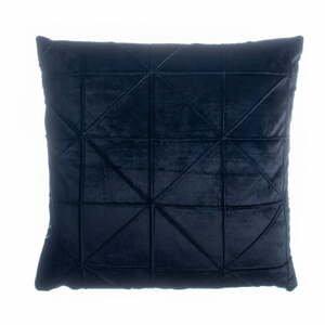 Černý polštář JAHU Amy, 45 x 45 cm