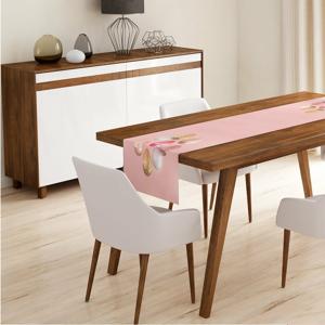 Běhoun na stůl Minimalist Cushion Covers Pink Ballon, 140 x 45 cm