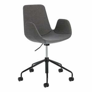 Šedá kancelářská židle La Forma Yasmin