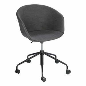 Šedá kancelářská židle La Forma Zadine